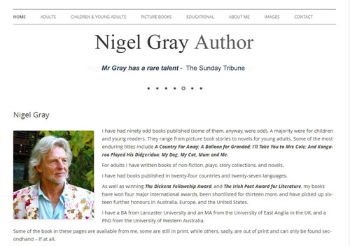 Author Nigel Gray