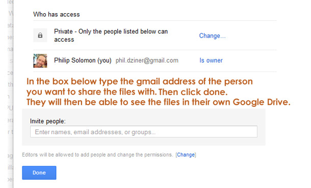 how to upload photos in google drive and share
