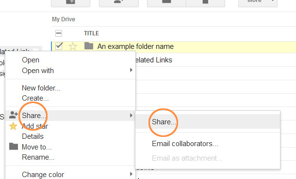 instructions for using google drive
